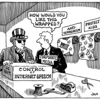 Propaganda for Government Control of Internet