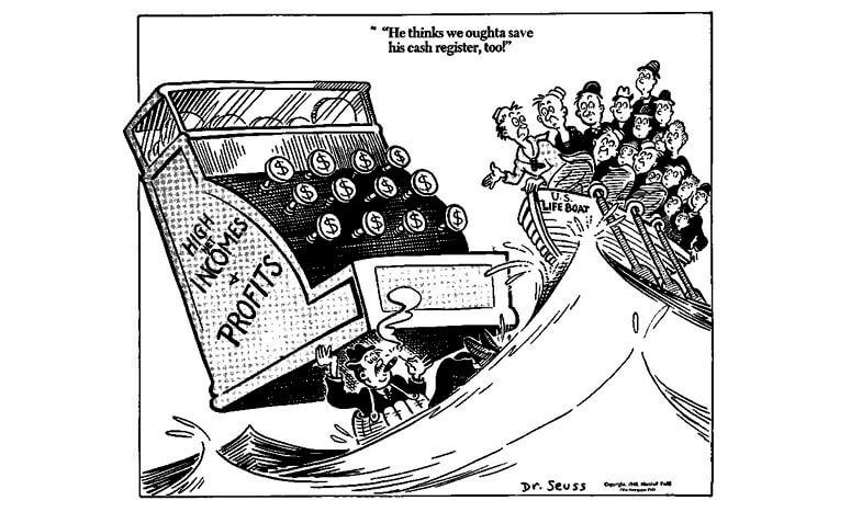 Dr Seuss on Corporate Bailouts
