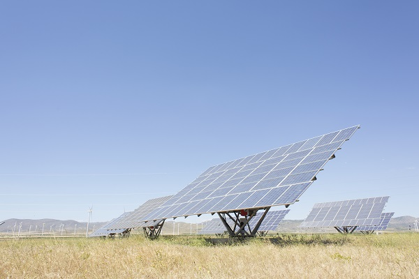 Painel solar estrutura