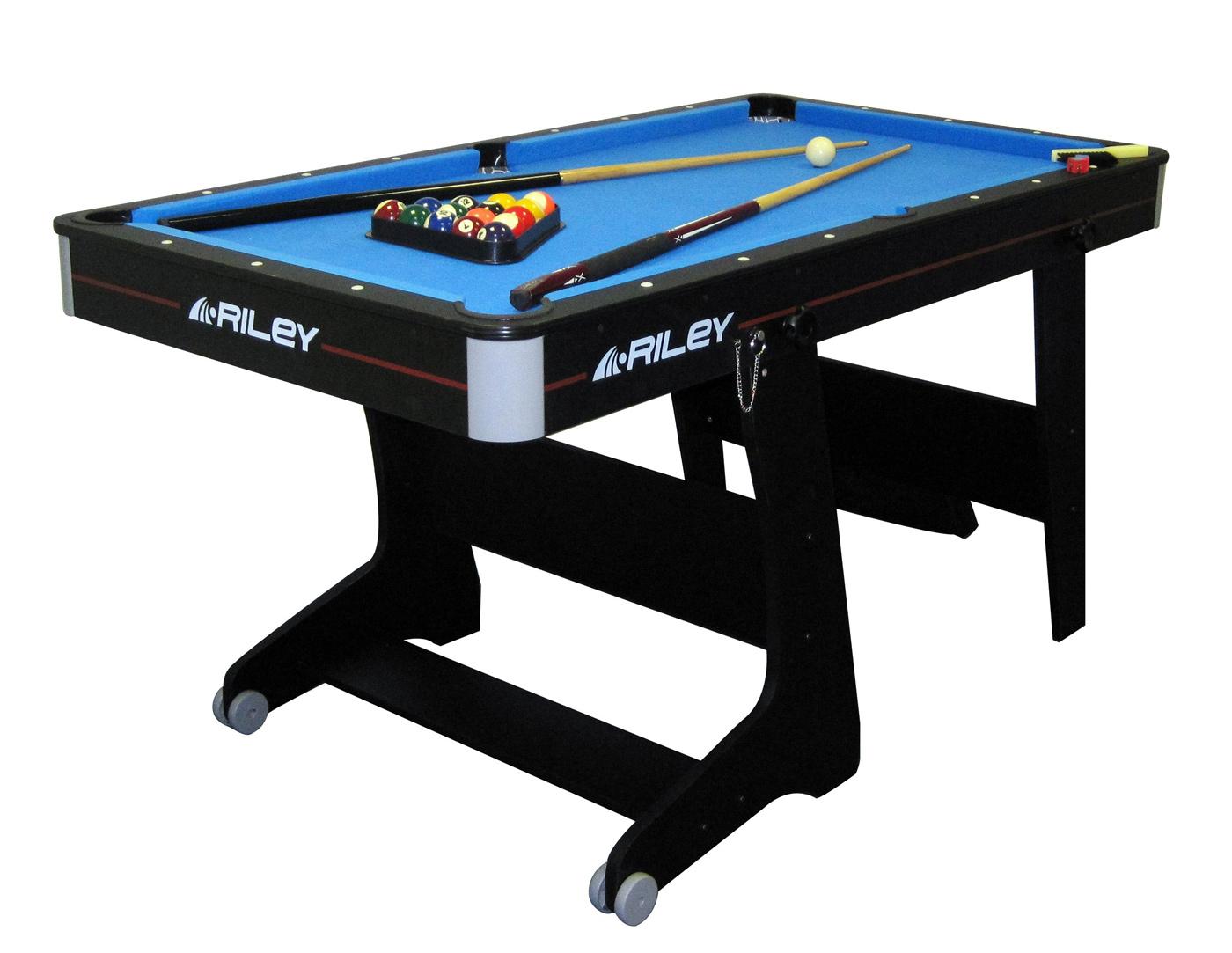 Riley 5ft Folding Pool Table FP5B  Liberty Games