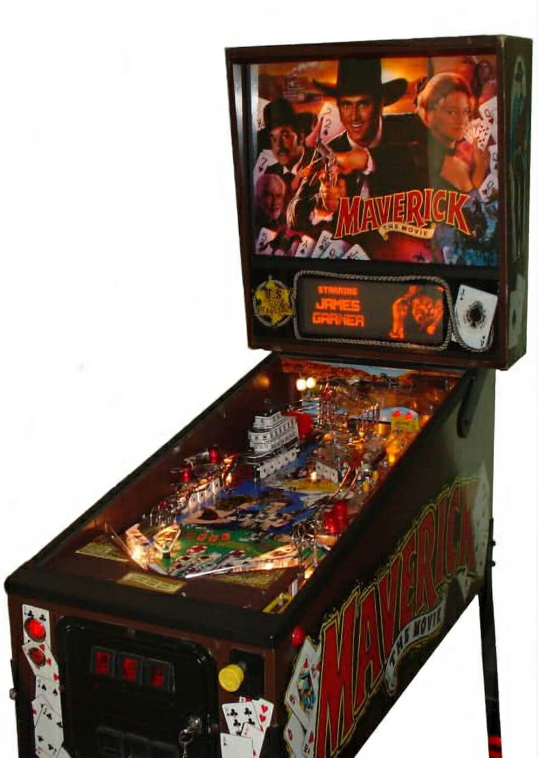 Maverick The Movie Pinball Machine  Liberty Games