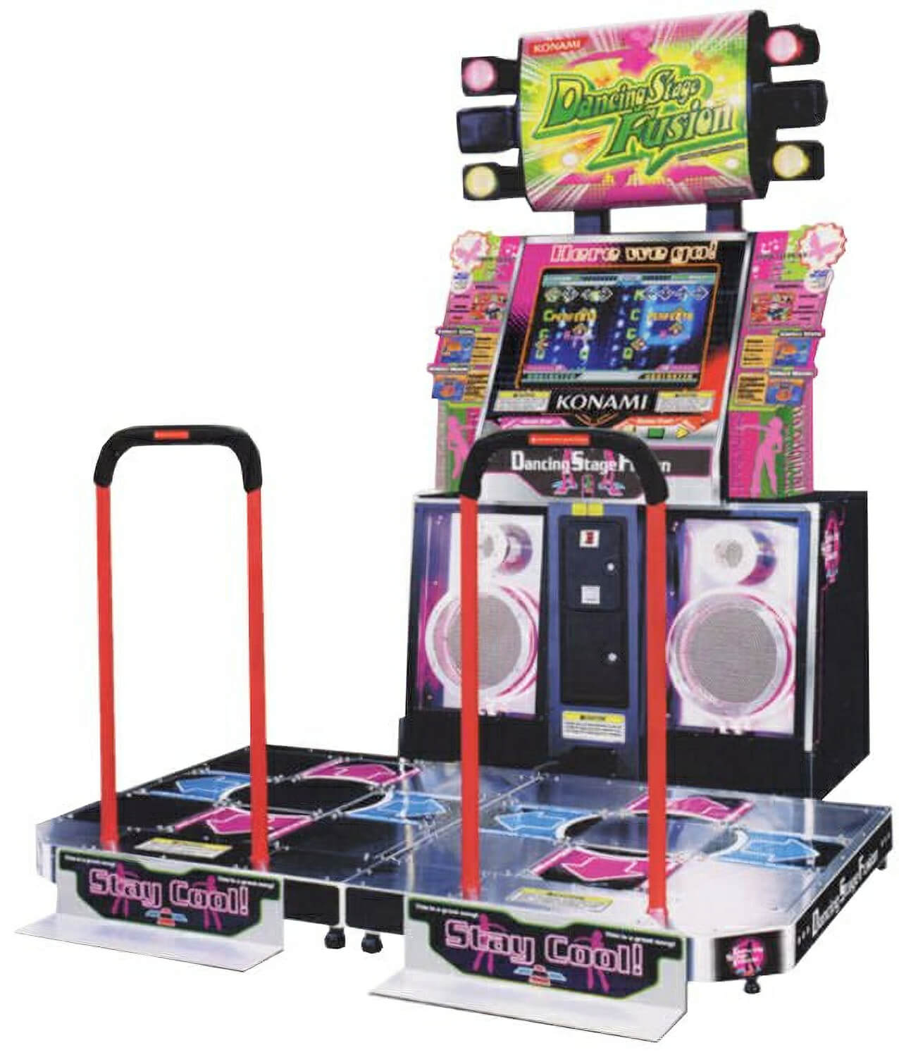 Dance Stage Fusion Arcade Machine Liberty Games