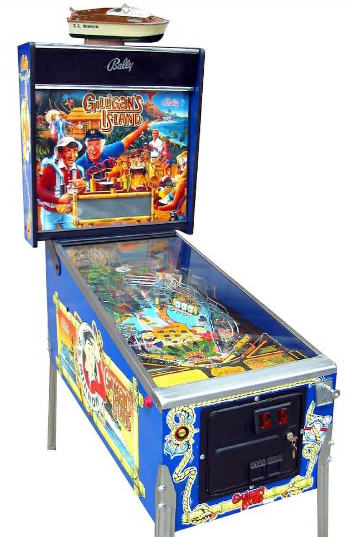 Gilligans Island Pinball Machine  Liberty Games