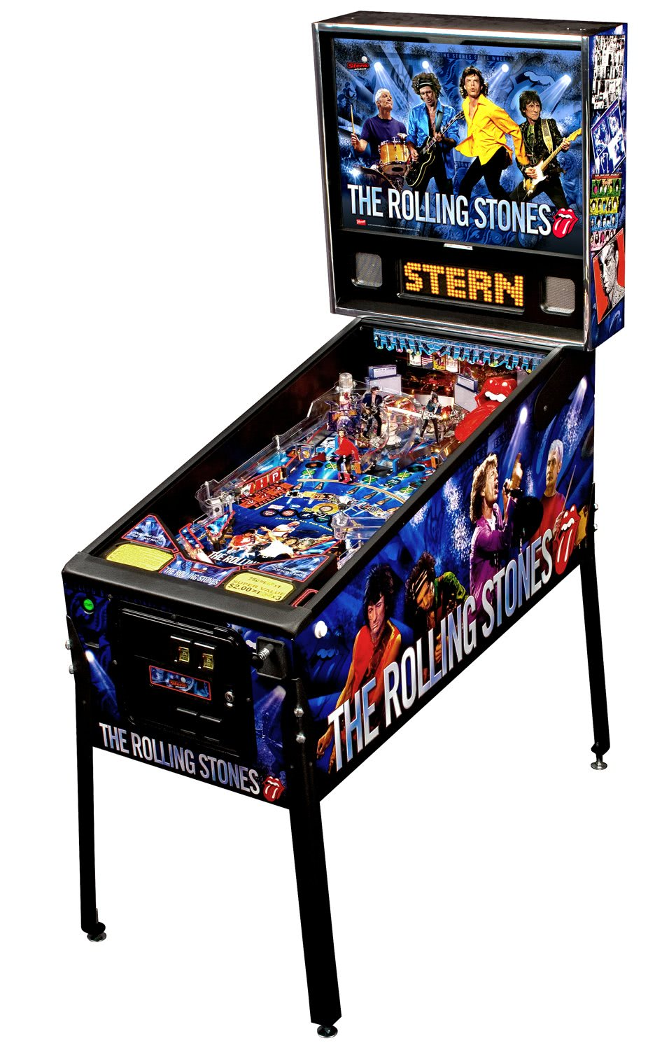 Stern The Rolling Stones Pinball Machine  Liberty Games