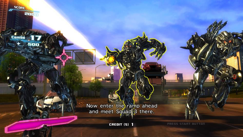 Sega Transformers Human Alliance Arcade Machine  Liberty