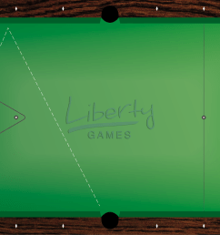in this example we want to pot the yellow ball in the middle pocket and the cue ball is located near the bottom left corner pocket  [ 1382 x 768 Pixel ]