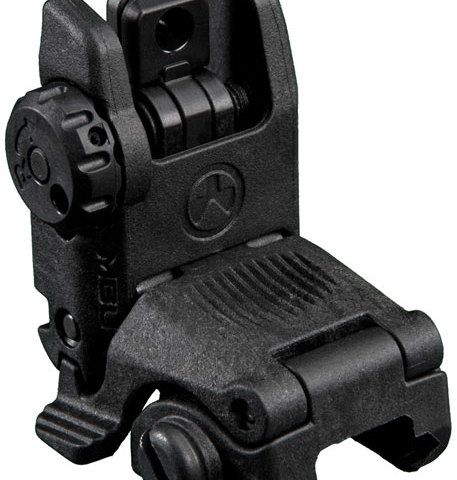 Magpul MBUS Gen 2 Flip-Up AR Style Rear Sight, Black