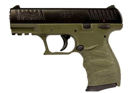 New Walther CCP, 9mm, 8 Rounds, 2 Magazines, External Safety: $319