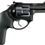 New Ruger LCRx, .22 WMR, DA/SA, 3″ Barrel, 6 Rounds, Hogue Tamer Grip, Matte Black: $459