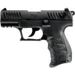 New Walther, P22QD, SA/DA, .22LR, 3.4″ BBL, Black Polymer Finish, 10 Rounds, Adjustable Sights: $297