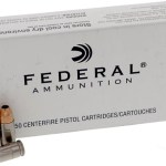 Federal LE Ammo, 9mm +P+, 115 Gr., JHP, 50 Rounds: $24