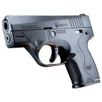 New Beretta NANO, 9mm, 3″ Barrel, Polymer Frame, Black Finish, 3 Dot Sights, 2 Magazines, 1-6 Round & 1-8 Round: $339