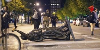 Wisconsin statue