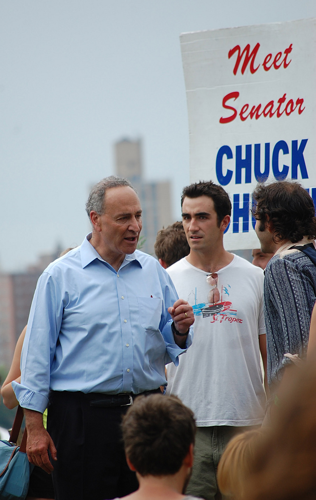 Senator Chuck Schumer photo