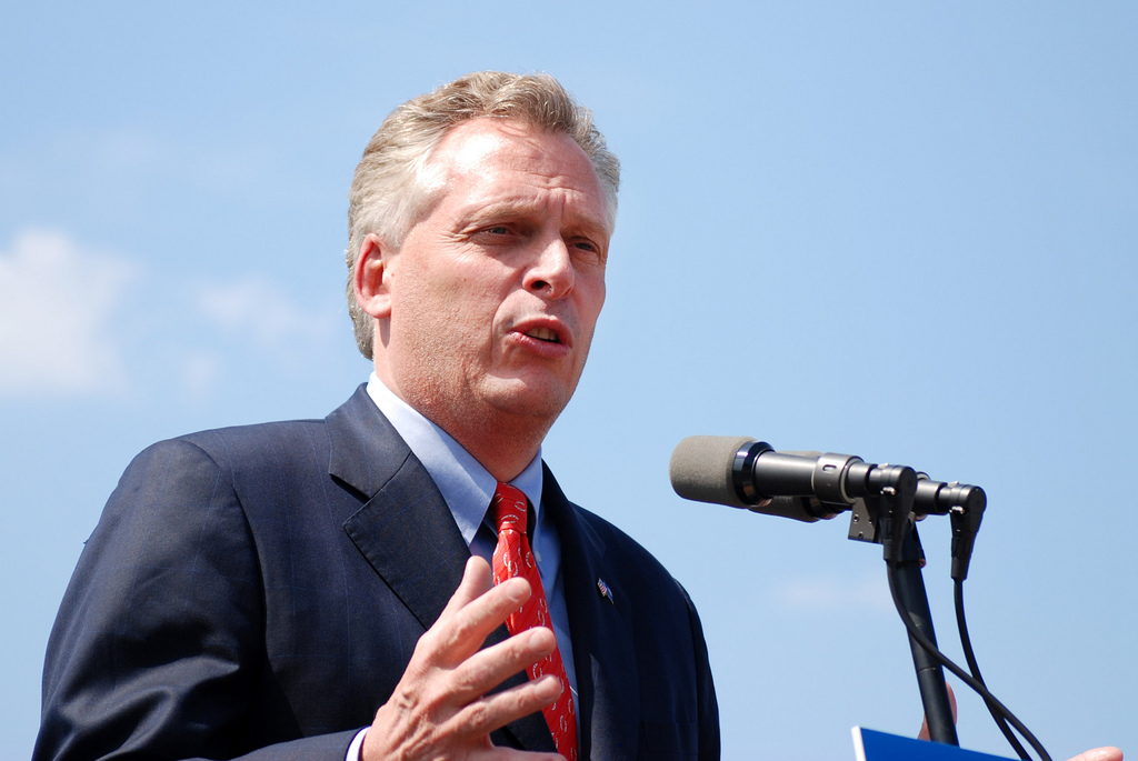 Terry McAuliffe photo