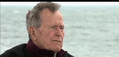 George H.W. Bush Defends Why He 'Patted Women's Rears'