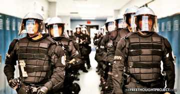 Police Detain Entire School, Illegally Search 900 Children & Find Nothing