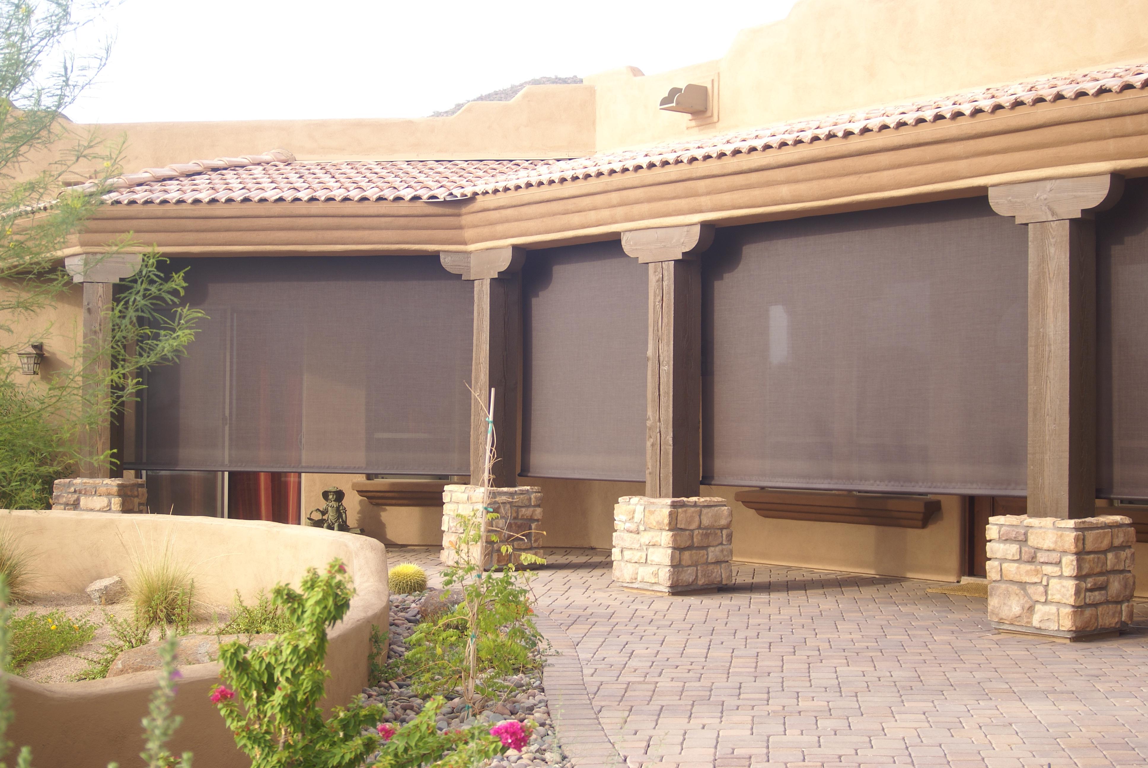 Outdoor Patio Sun Screen Shades