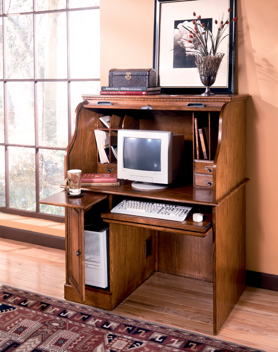 Liberty Lagana Furniture in Meriden CT The Drake RollTop Desk by Ashley Furniture