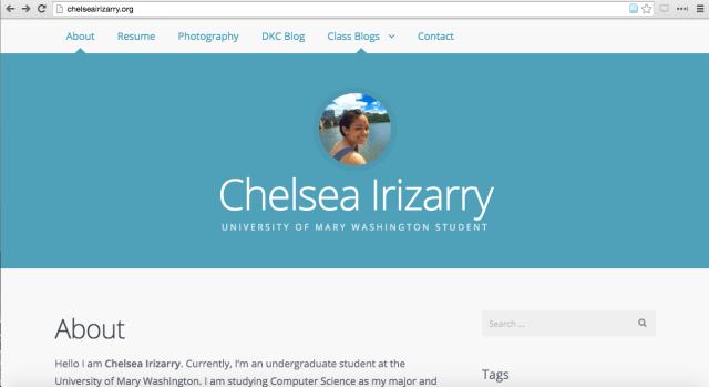 Chelsea's website