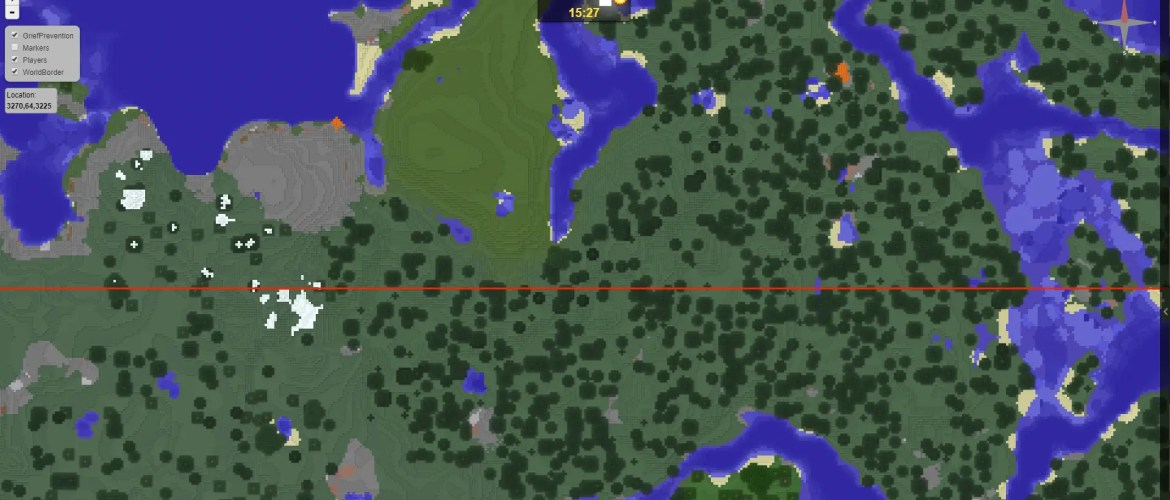 "Google Maps"" for Liberty Minecraft – Dynmap – Liberty Minecraft"
