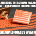 Oscars Sagged Amid SAF-Highlighted Hypocrisy on Guns