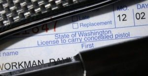 While WA Lawmakers Push to Open Gun Shops, What About CPLs?