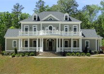 Colonial Homes with Front Porch Designs