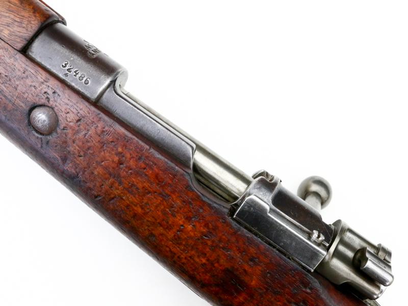 Turkish Mauser M38 Rifle Ref
