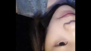 Chinese Cute Girl Masturbation Public