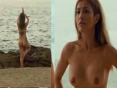 Nathalie Hart Yoga Nude Scene Scandal (Sin Island 2018)