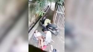 New year Scandal - Papupok sa labas ng bahay