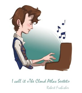 robert Frobisher compose le Cloud Atlas Sextet au piano