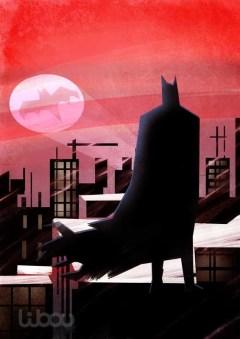 batman observe le ciel batsignal