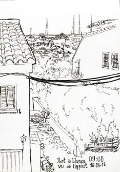 llanca-dessin-ville-port