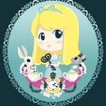 Chibi Alice in Wonderland