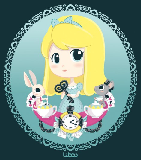 Alice en vectoriel