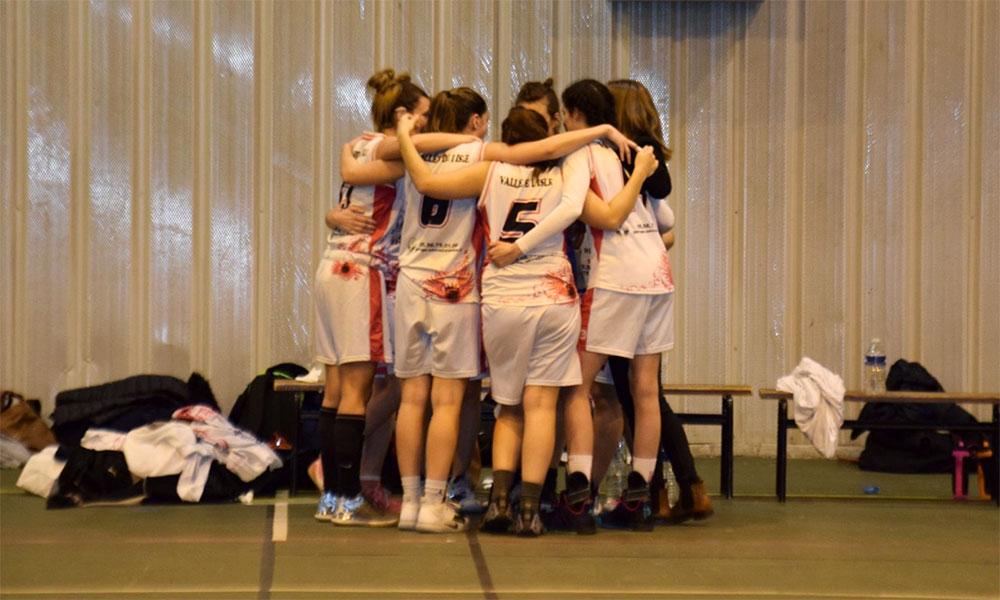 séniors filles libourne vallée de l'isle basket