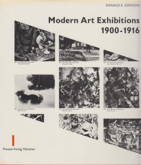 Modern Art Exhibitions 1900-1916. Selected Catalogue