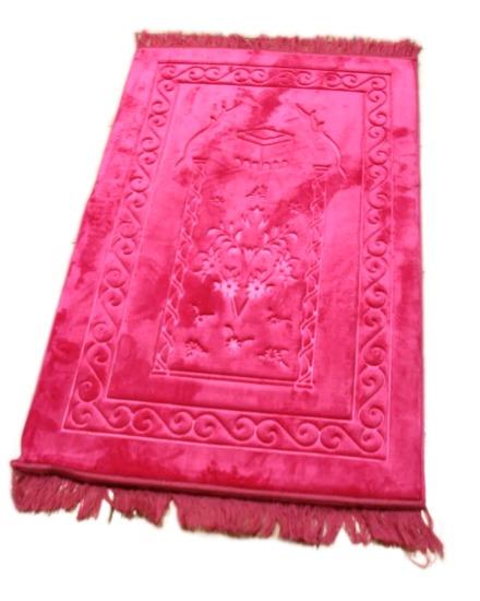 unis couleur crown tapis de priere
