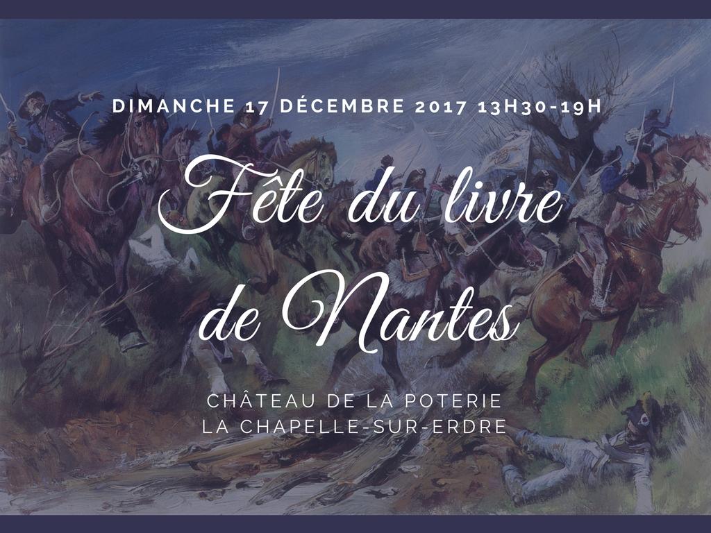 Fête du Livre de Nantes <br> dimanche 17 décembre 2017