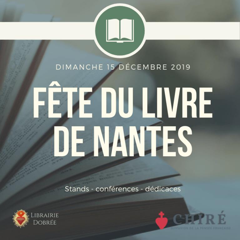 Fête du livre de Nantes 2019