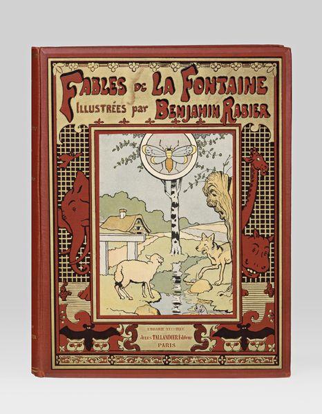 Fables de La Fontaine illustrées par Benjamin Rabier