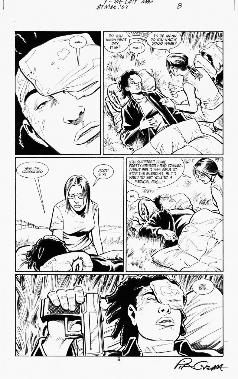 Y THE LAST MAN Nº7 PAGE 8