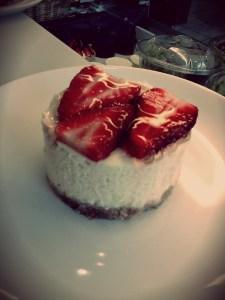 Cheesecake Light Fraise