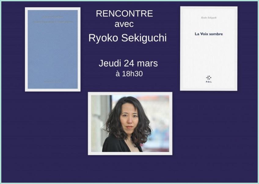 ryoko sekiguchi dédicace