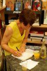 Lucile Bordes dédicace 86 année blance, editions Liana Levi