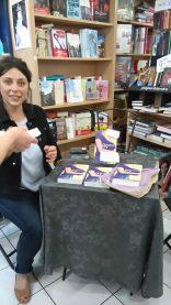 Caroline Michel à la librairie Maruani