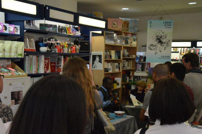 Rencontre avec Louis-Philippe Dalembert à la Librairie Nicole Maruani