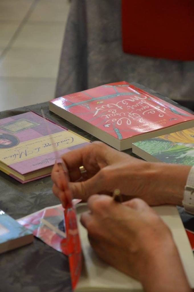 Christine Féret-Fleury dédicace son livre